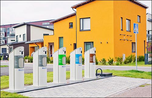 سیستم زباله ای هوشمند در فنلاند